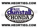 Paul Dunstall Honda Tank and Fairing Transfer Decal DDUN5-2